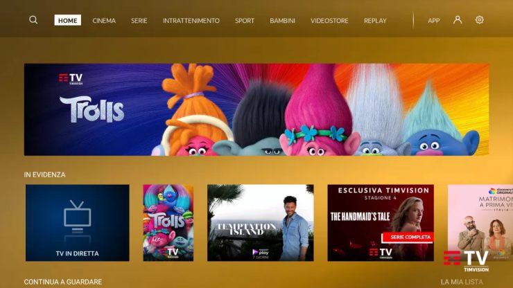 Timvision, offerte anche su Kena Mobile