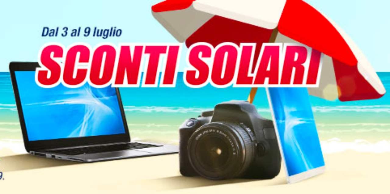 "Volantino Trony ""Sconti solari"""