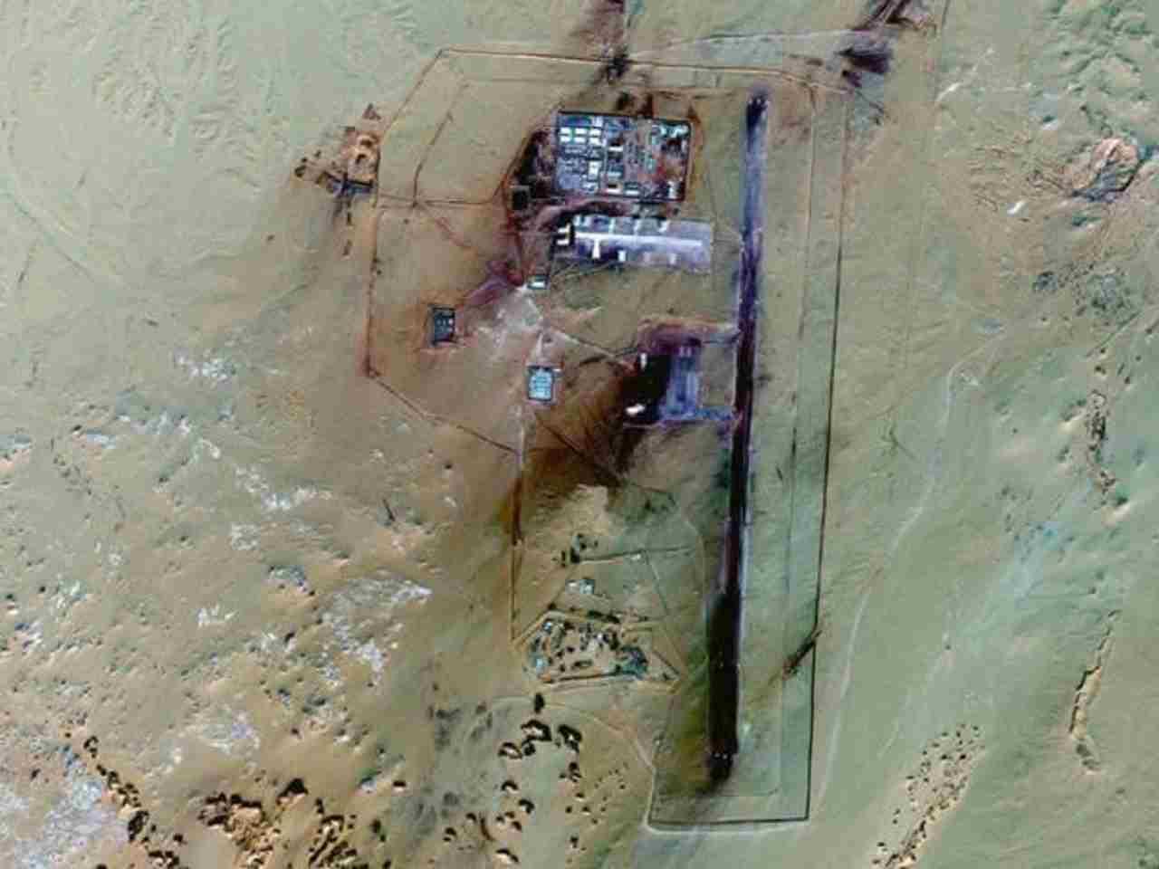 Base segreta militare scoperta su Google Earth
