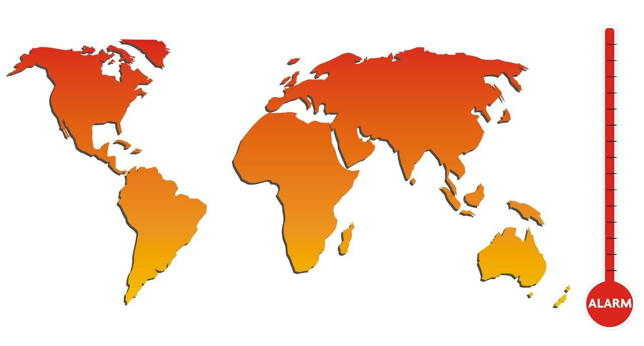 Allarme temperatura terrestre (Adobe Stock)