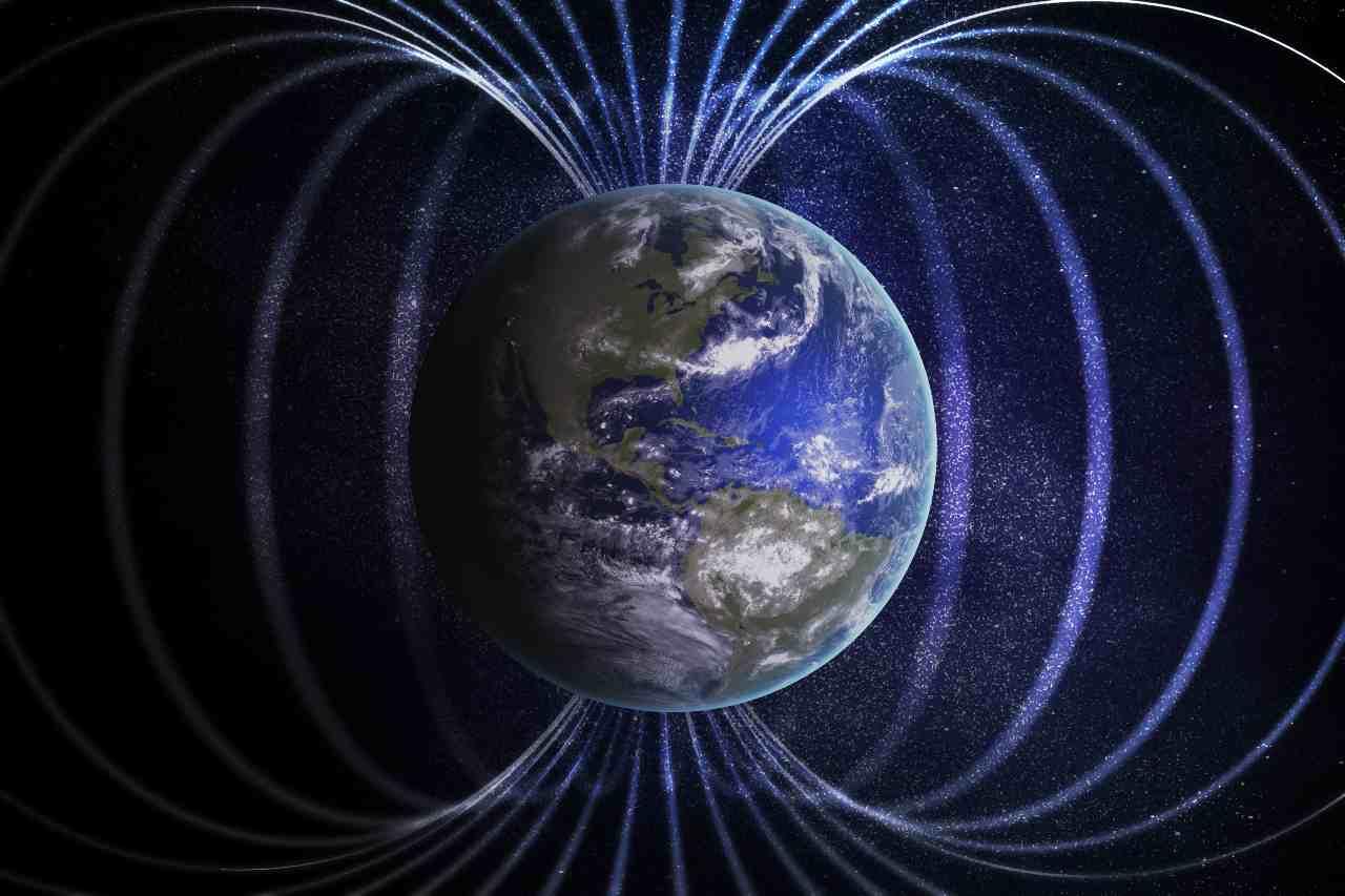 Campo magnetico terrestre (Adobe Stock)