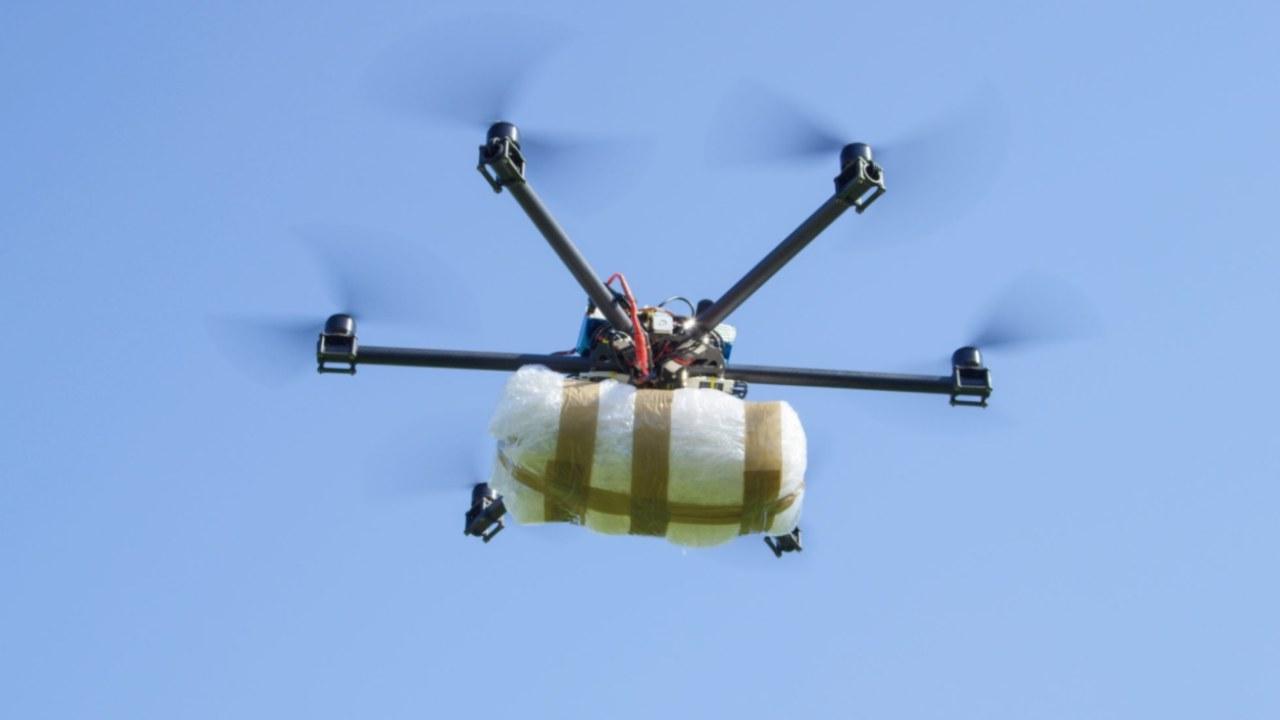 Drone con droga