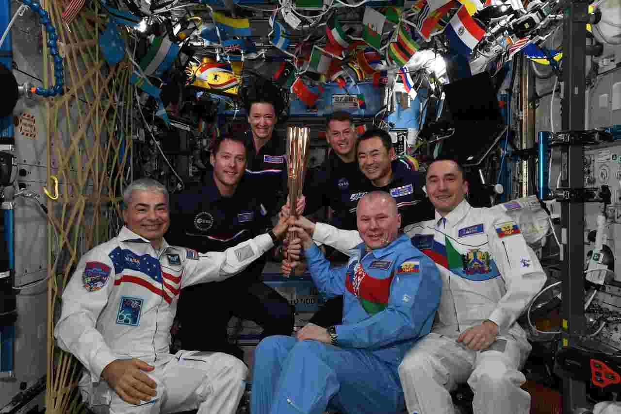 Stazione spaziale internazionale (foto Oleg Novitskiy)