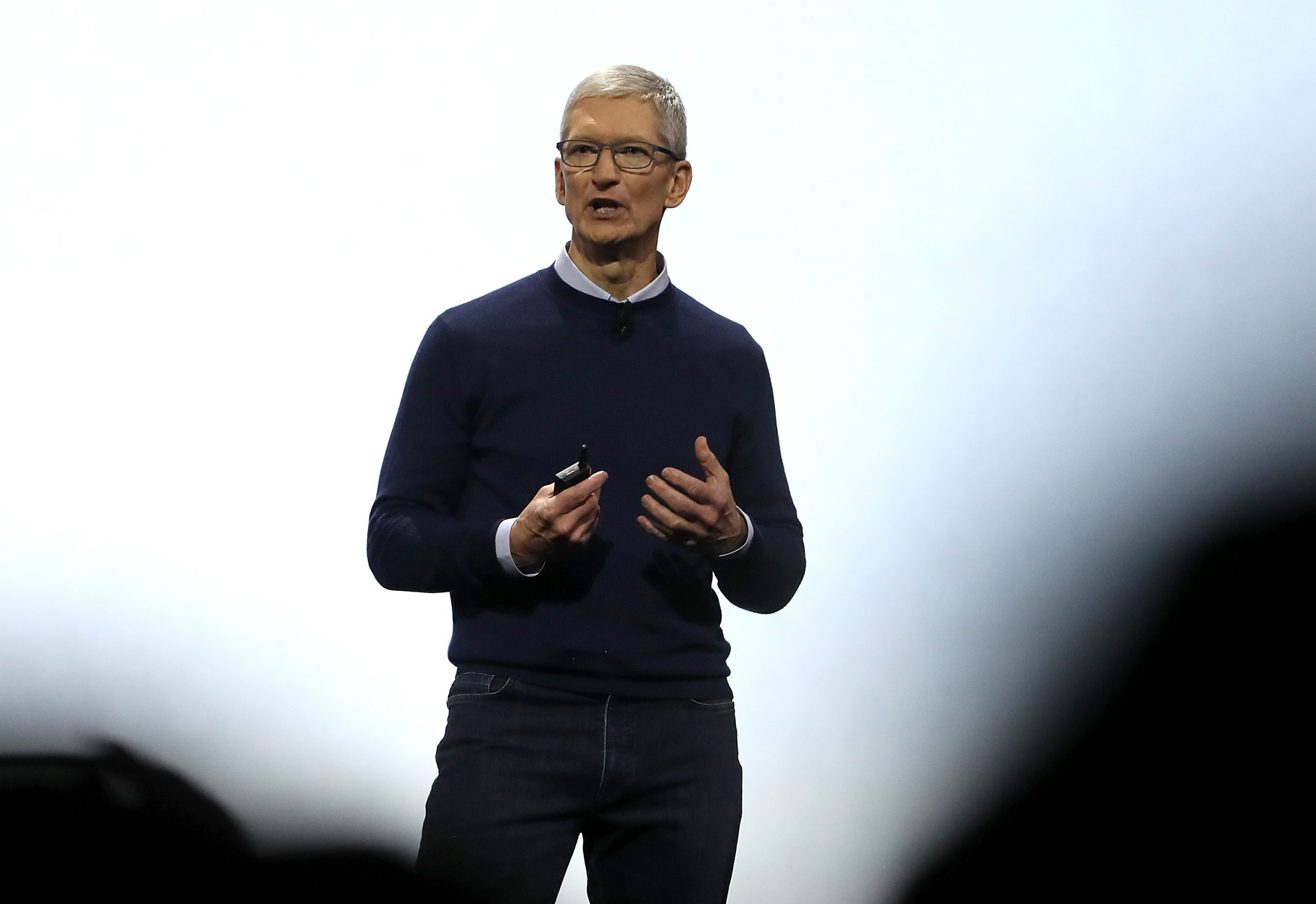 Tim Cook (foto Getty Images)
