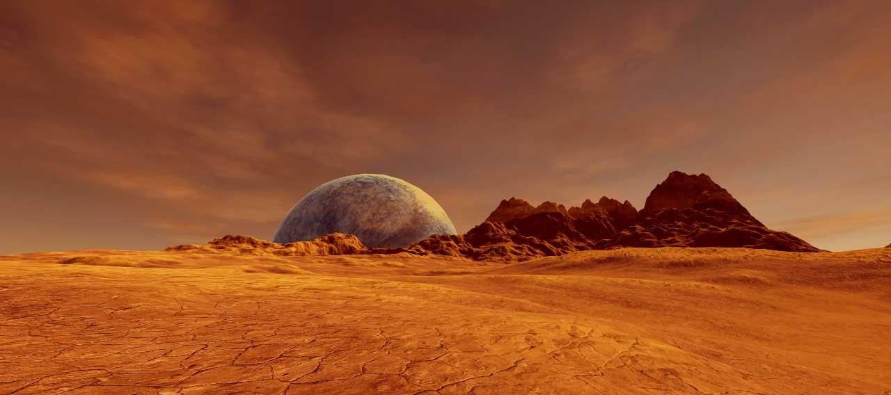Superficie di Marte (Adobe Stock)