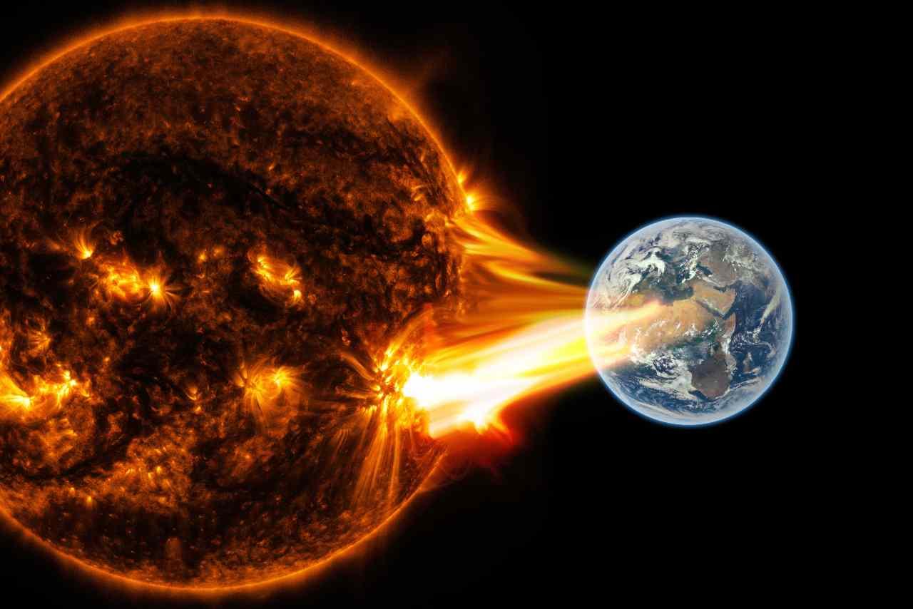 Tempesta solare (Adobe Stock)
