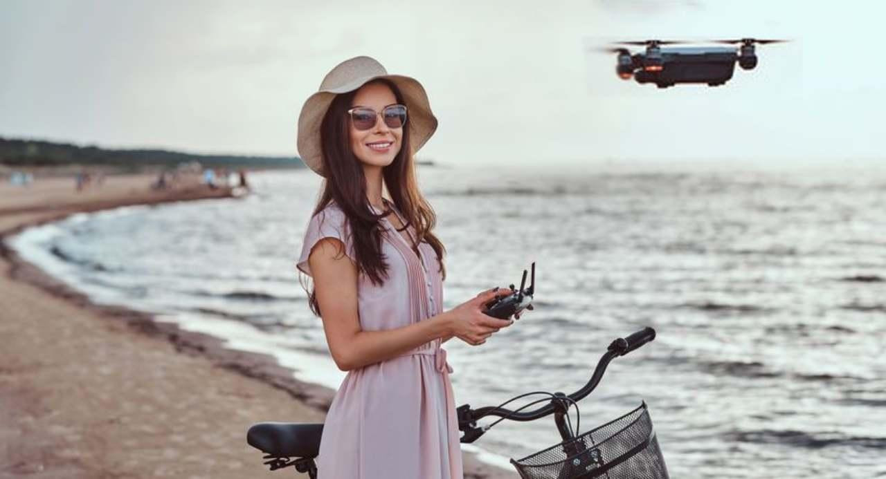 Drone in vacanza: quale scegliere? (Foto DronEzine)