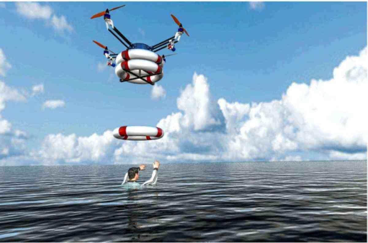 Drone bagnino