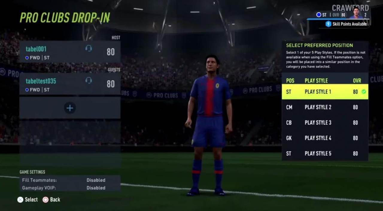 Fifa 22, novità modalità Pro Club