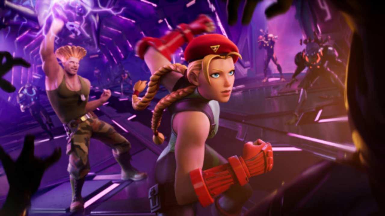 Fortnite, due nuovi personaggi di Street Fighter
