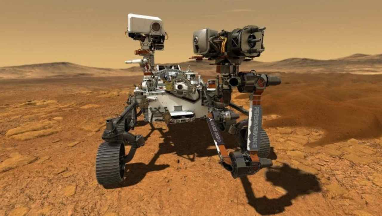 Anche l'Italia su Marte (Foto Repubblica)