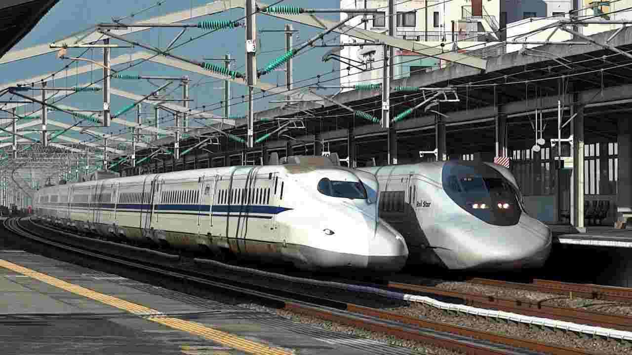 Il treno proiettile Shinkansen