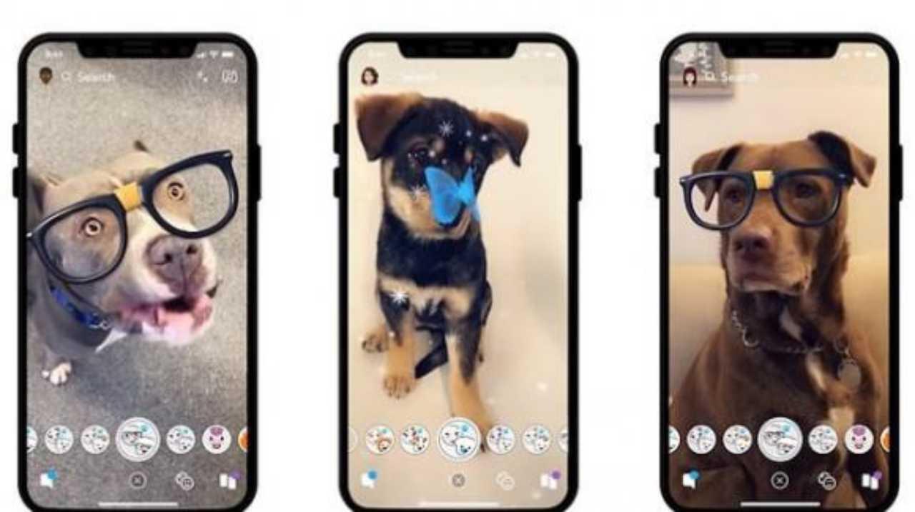 Snapchat, le novità (Foto Fidhouse.com)