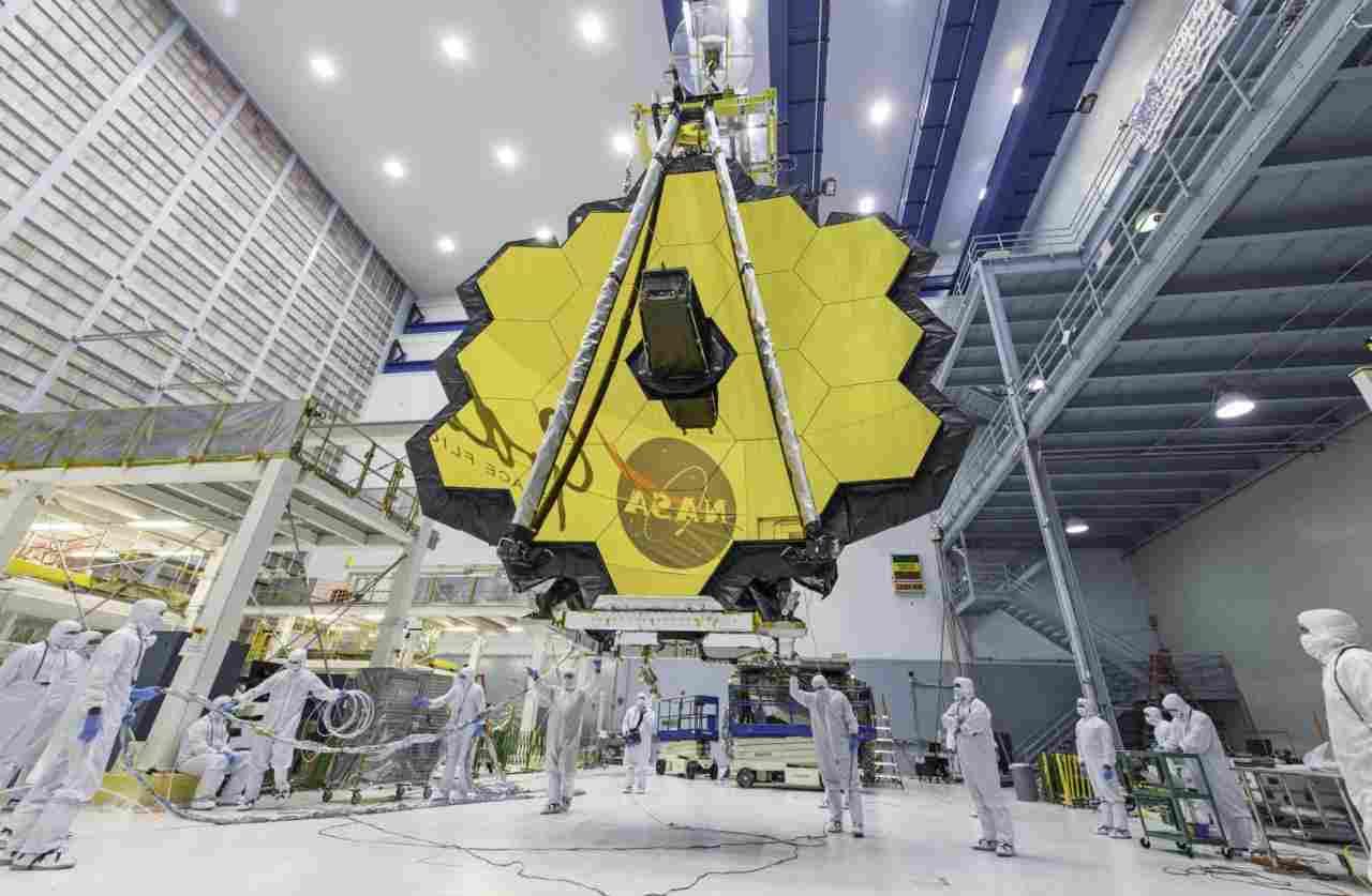 Telescopio James Webb (Foto Inaf)