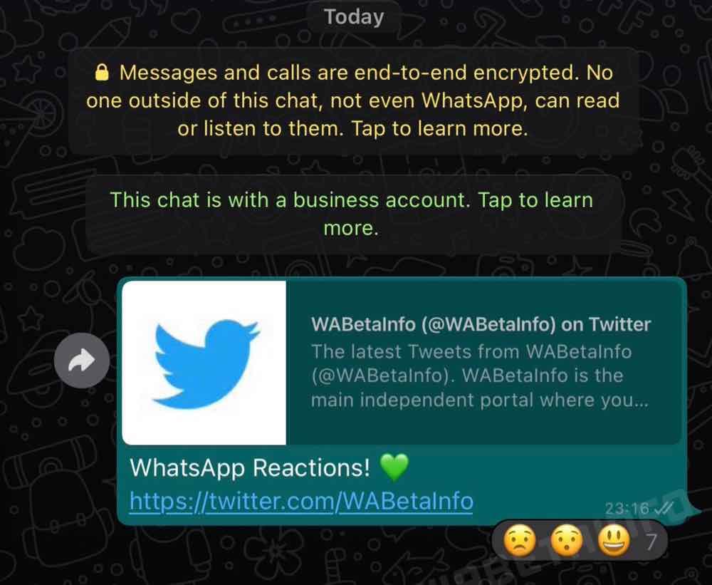 WhatsApp cambia grafica