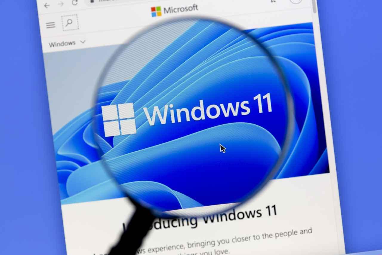 Windows 11 (foto Adobestock)