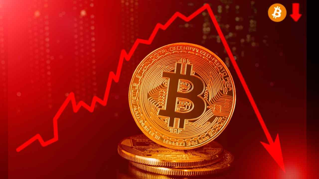 Bitcoin crollo (Adobe Stock)