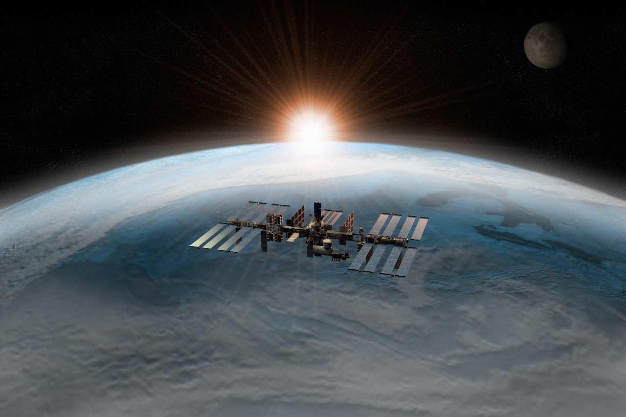 3D rendering della Stazione Spaziale Internazionale (Adobe Stock)