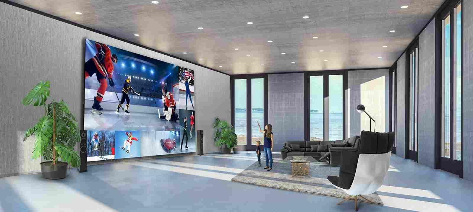 LG, la mastodontica tv grande quanto una parete (LG)