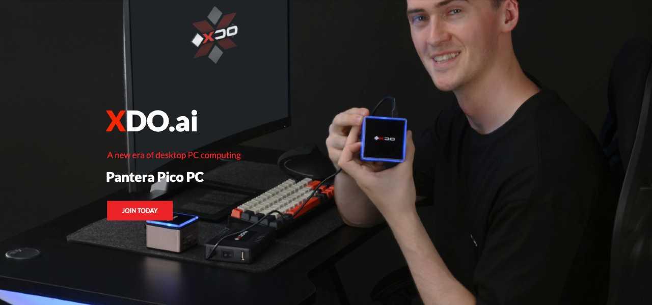 Pantera Pico PC, il computer che sta nel palmo di una mano