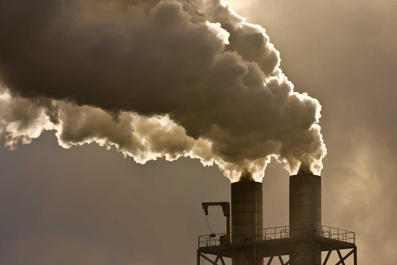 Stabilimento raccolta del carbonio (Adobe Stock)