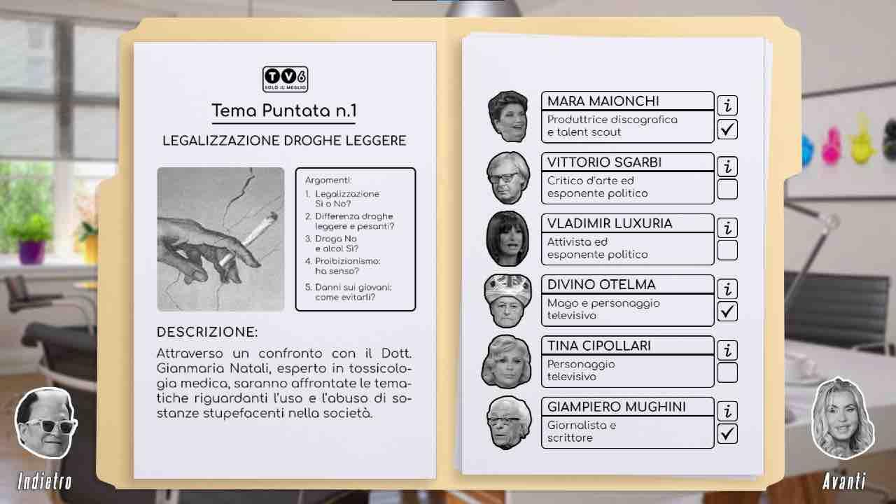 Capra! Simulator è l'ultima, incredibile idea di un team di sviluppo che ha così creato il simulatore di talk show trash italiani.