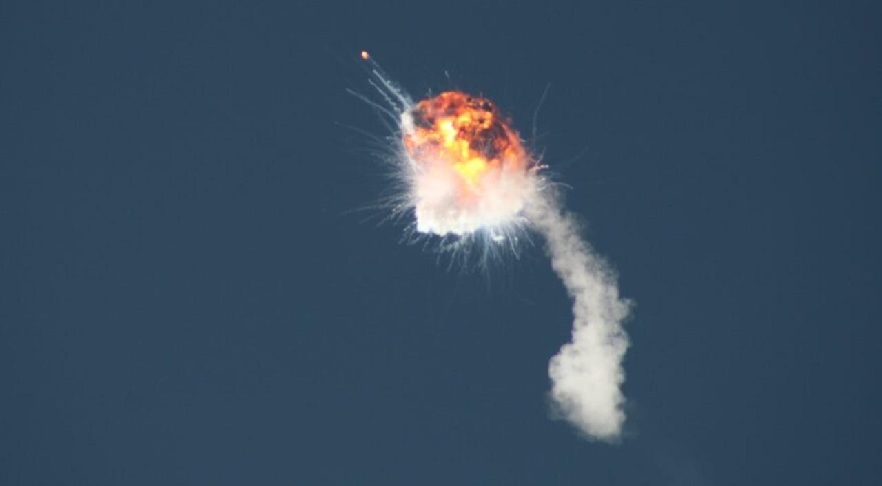 Il razzo Alpha di Firefly Space (Foto Ansa)