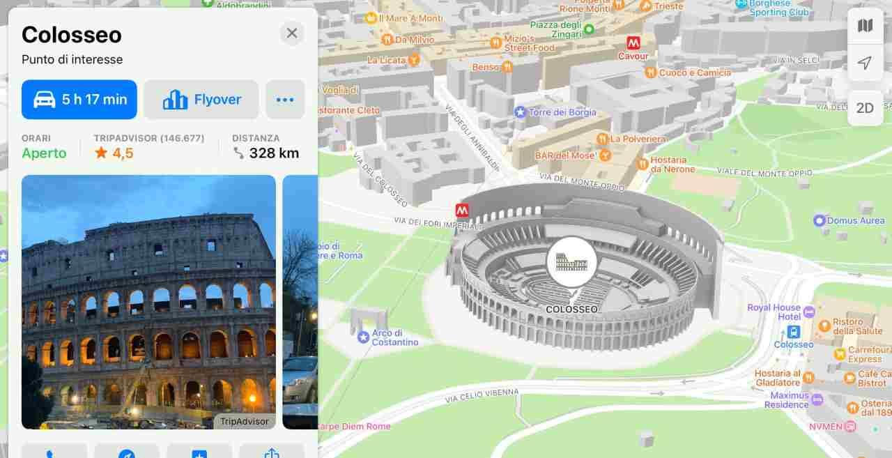 Apple Mappe, novità in iOS 15