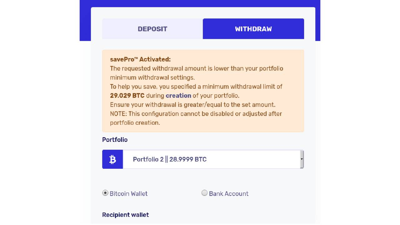 bitcoin wallet limit (proofpoint)