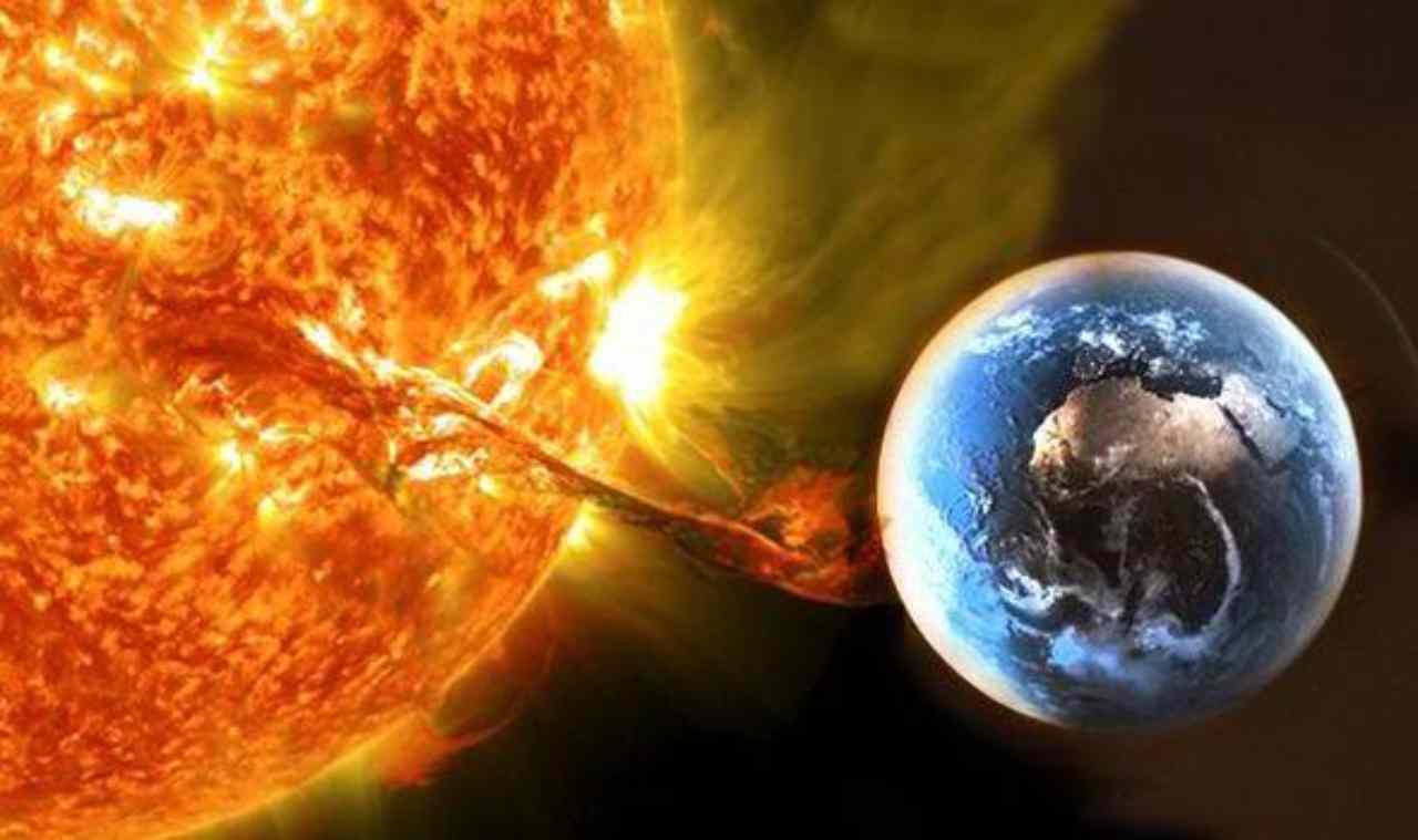 Tsunami solare (Foto IlMeteo.it)