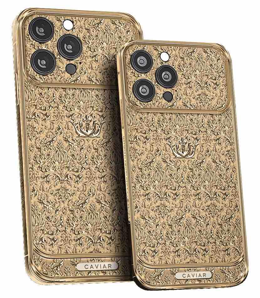 iPhone 13 Pro Gold Edition (fonte: Caviar)