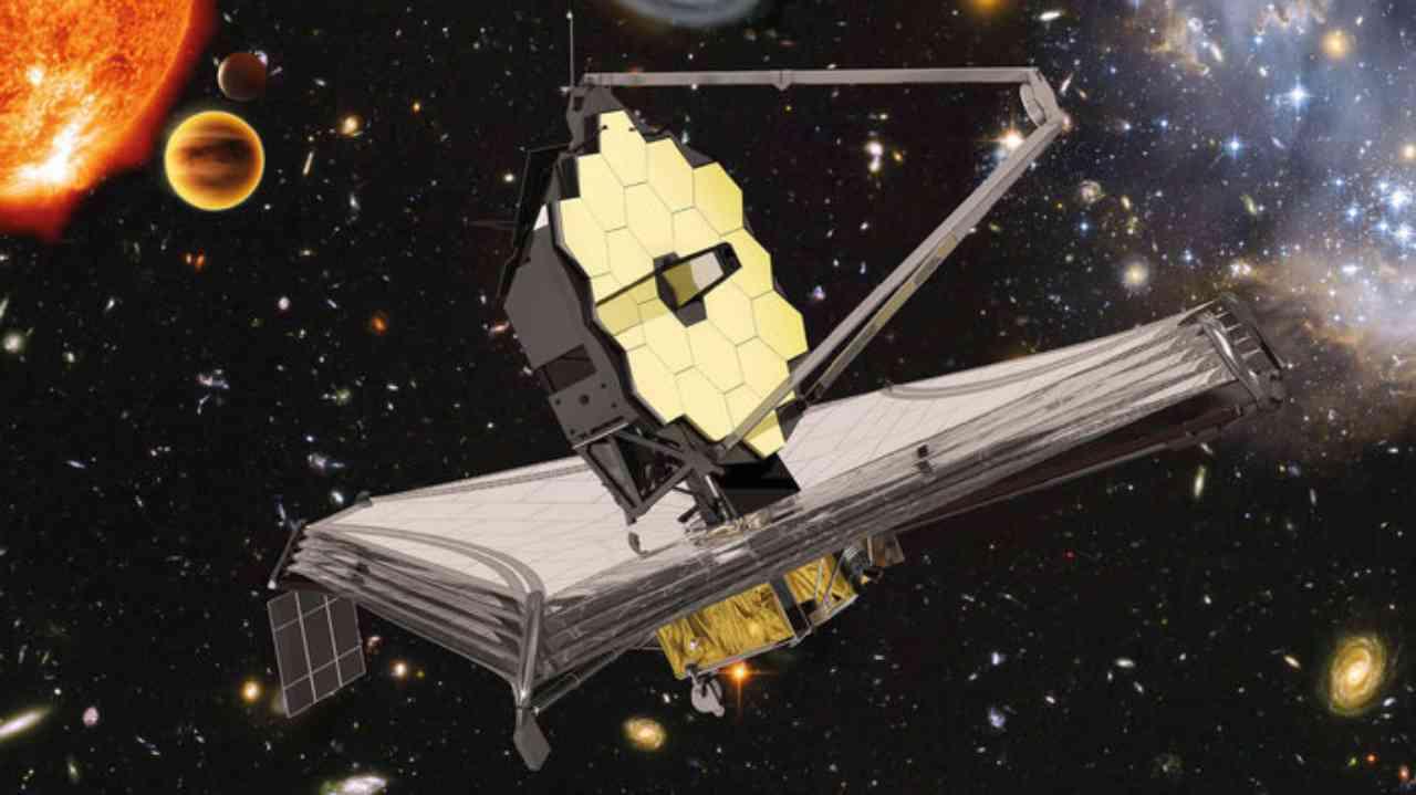 Telescopio spaziale James Webb (Foto Ansa)