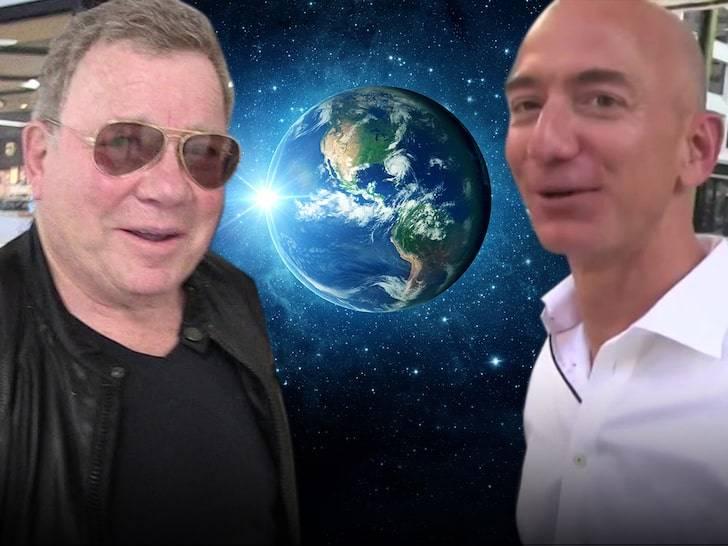 Il capitano di Star Trek e Jeff Bezos, insieme per una avventura mozzafiato (TMZ)