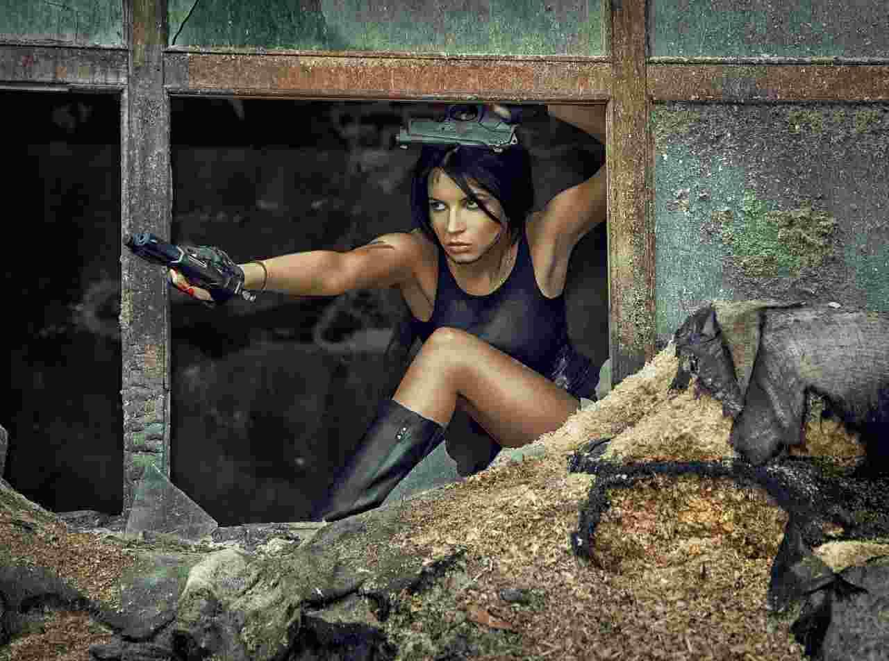 Lara Croft, il simbolo di Tomb Raider, pronto per un nuovo capitolo della infinita saga (Adobe Stock)