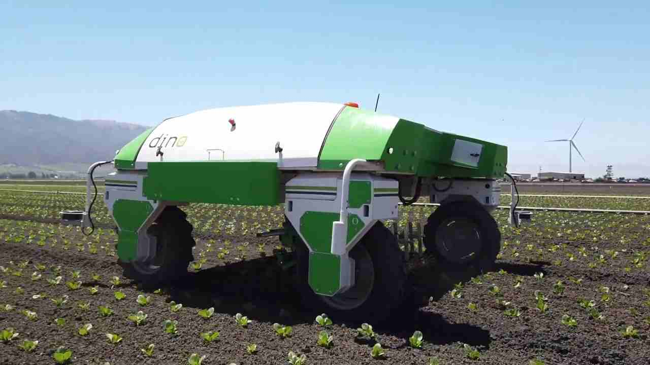 Arriva Dino, il bio-robot che aiuta la nostra agricoltura senza l'uso di chimica, un successo in Italia