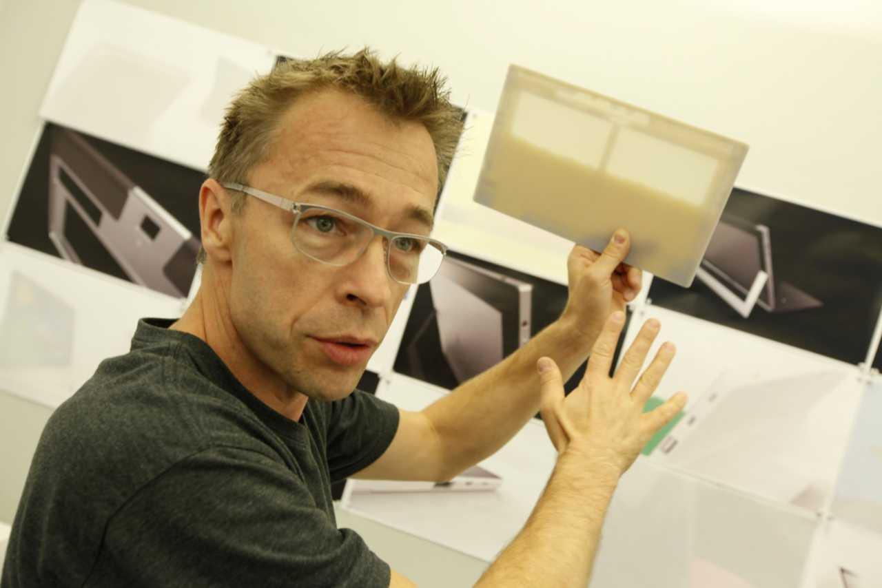 Ralf Groene, capo design di Windows (Foto Windowsinsiders)
