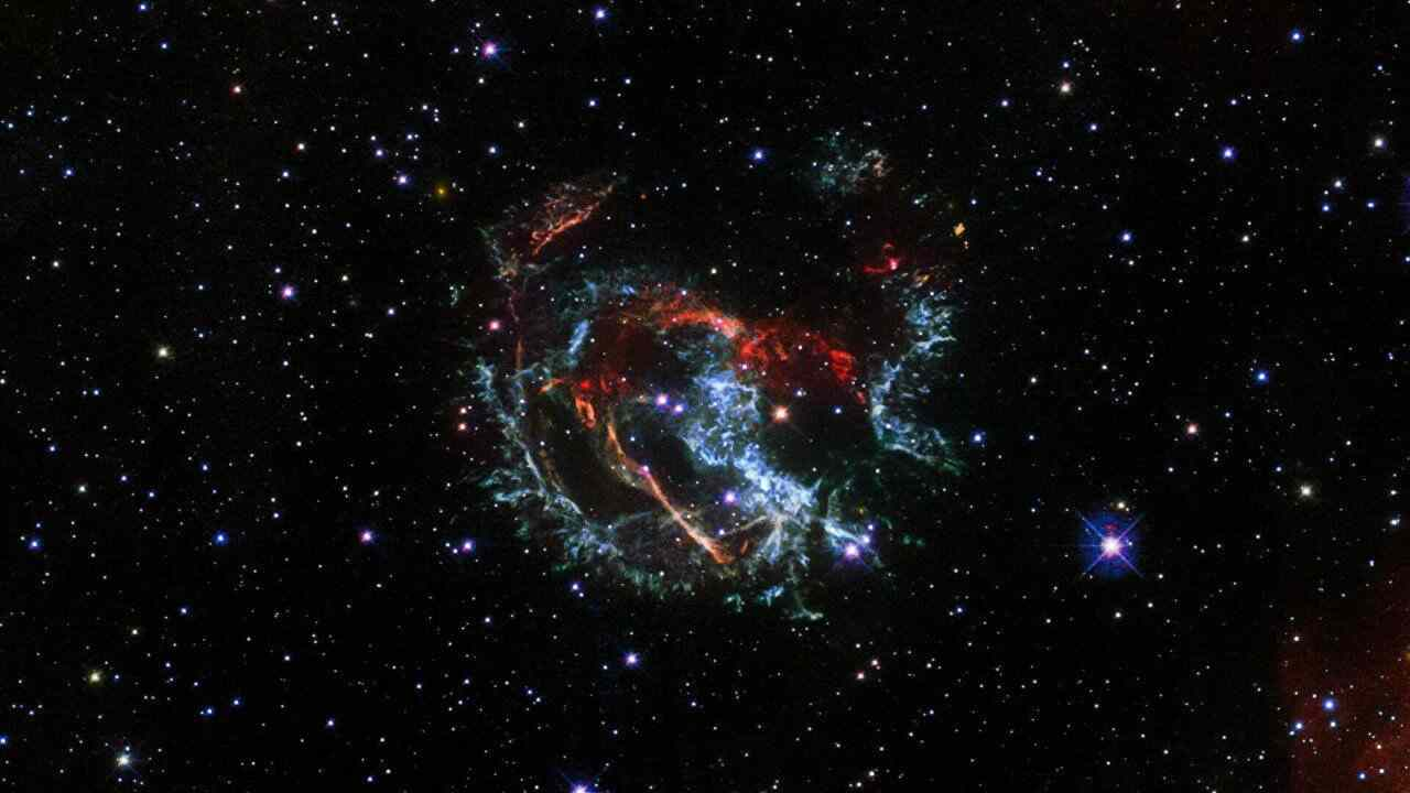 Lo spettacolo di una supernova (Foto Sputnik)