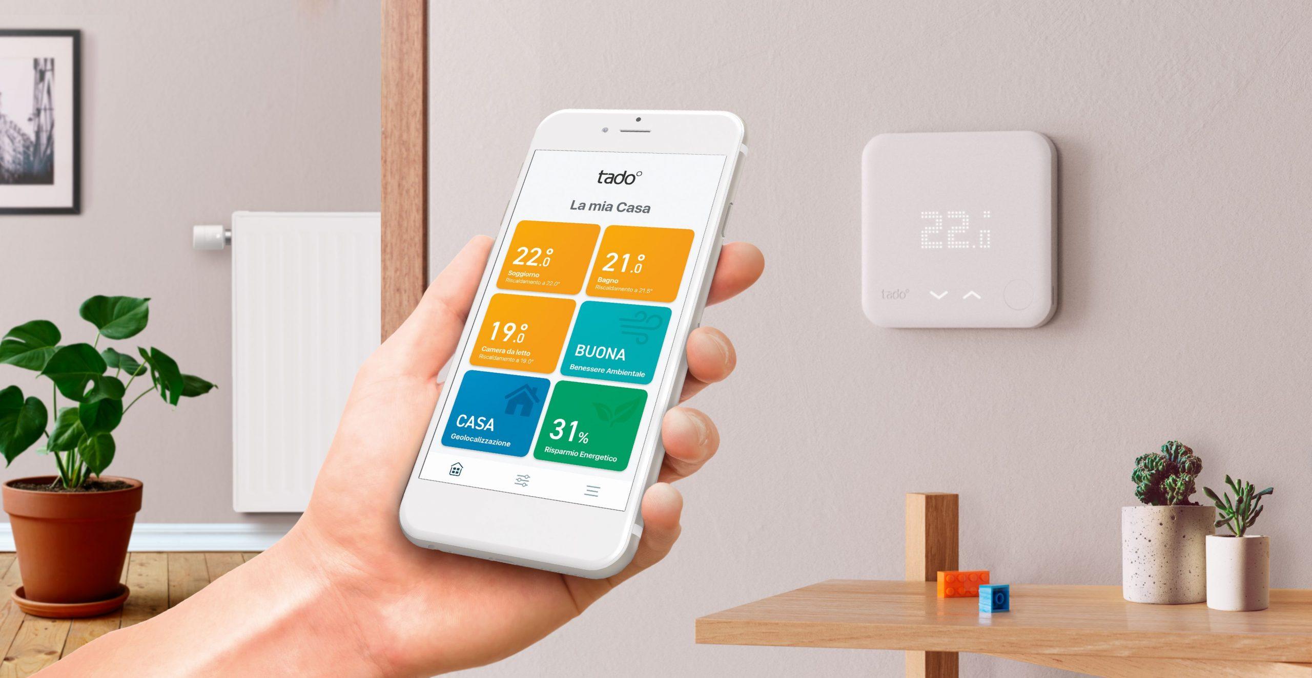 Tado, termostato e app per una Casa Intelligente (Tado)