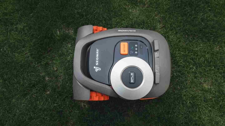 Il tagliaerbe di Ninebot utilizza una combinazione di GPS e altri sensori (Segway)