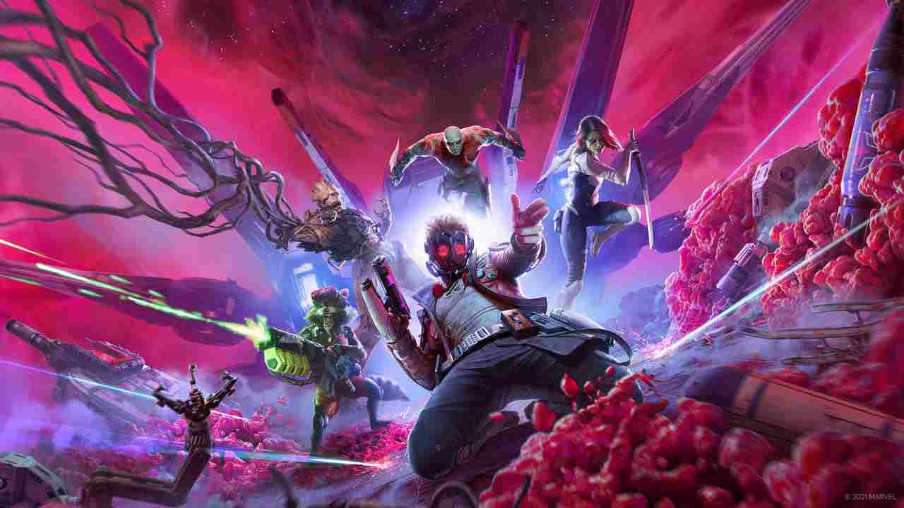 Il videogioco dei Guardiani della Galassia