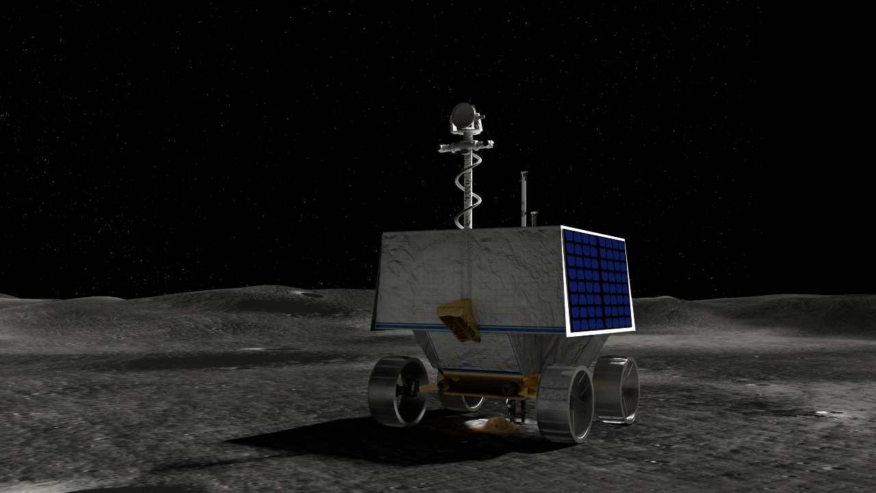 Rover lunare Viper (foto Nasa)