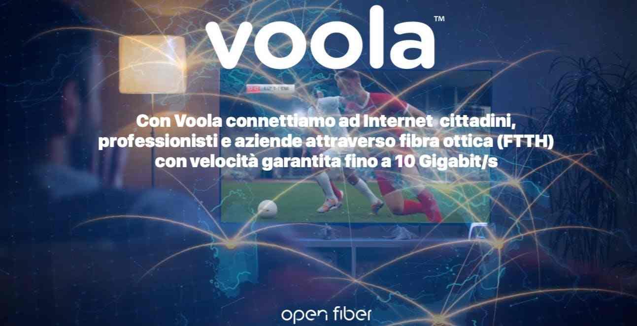 Voola, figlia di un accordo strategico fra Open Fiber e Vetrya (Open Fiber)