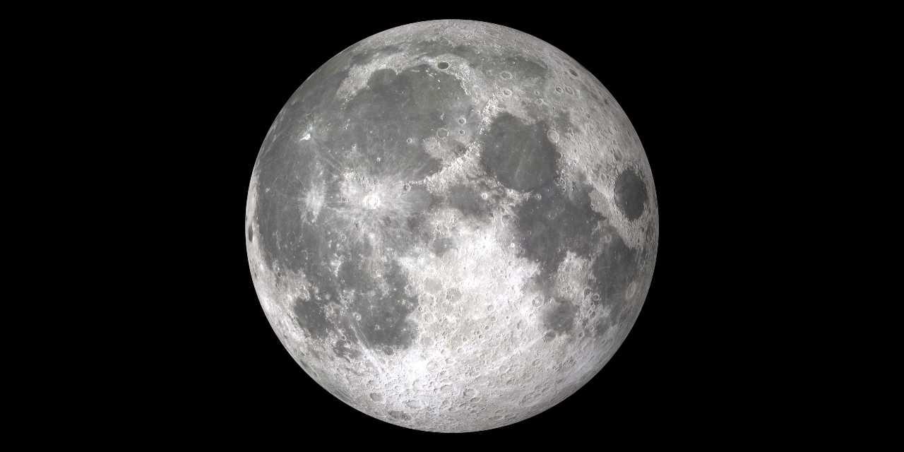 La Luna immortalata in una sera senza nubi (Adobe Stock)