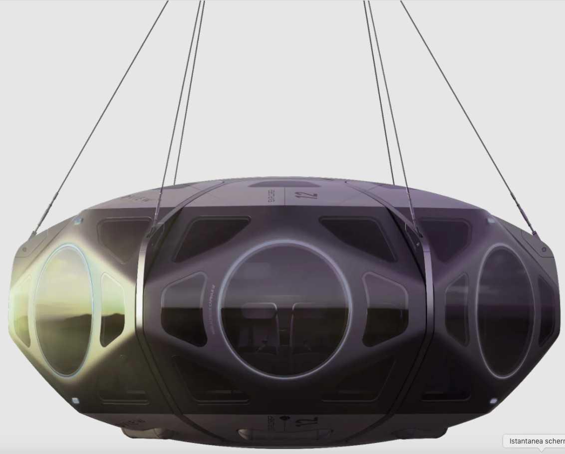 La capsula spaziale di World View