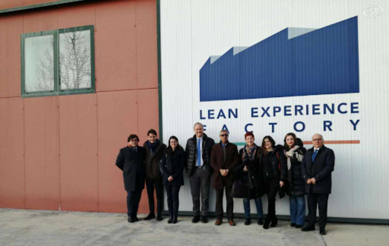 LEF, Lean Experience Factory (Foto Canale 58)
