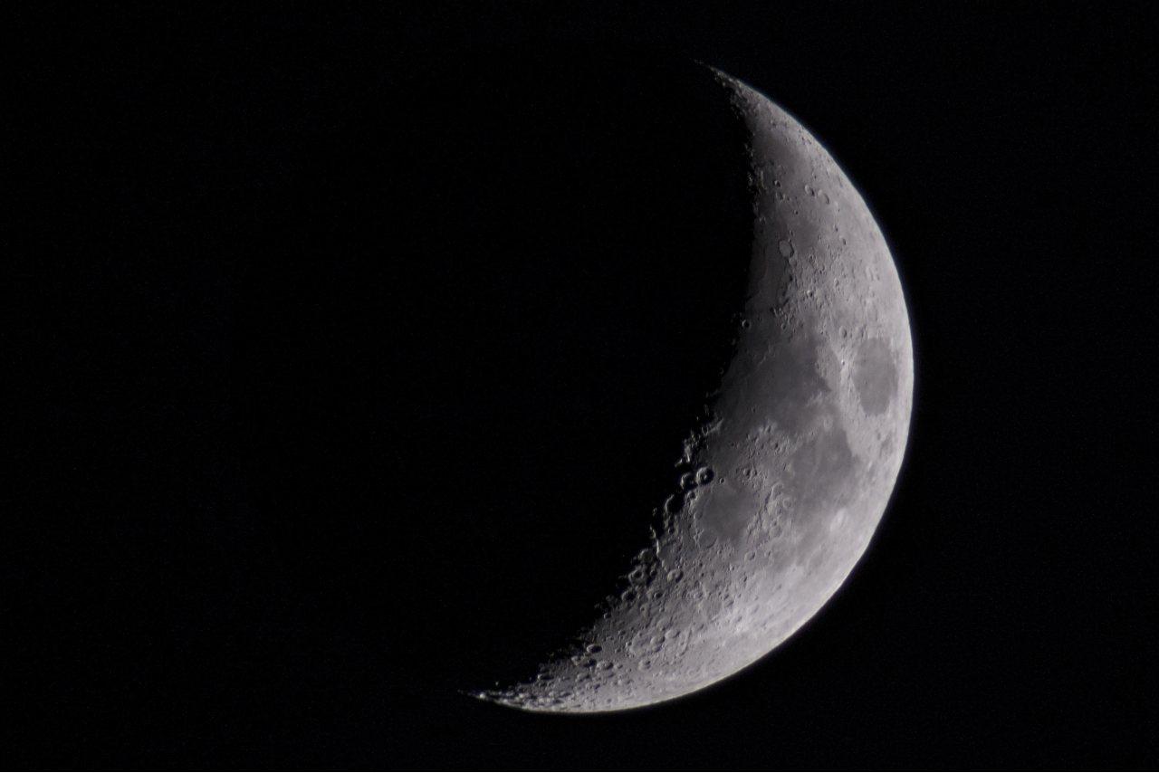 La Luna si allontana dalla Terra (AdobeStock)