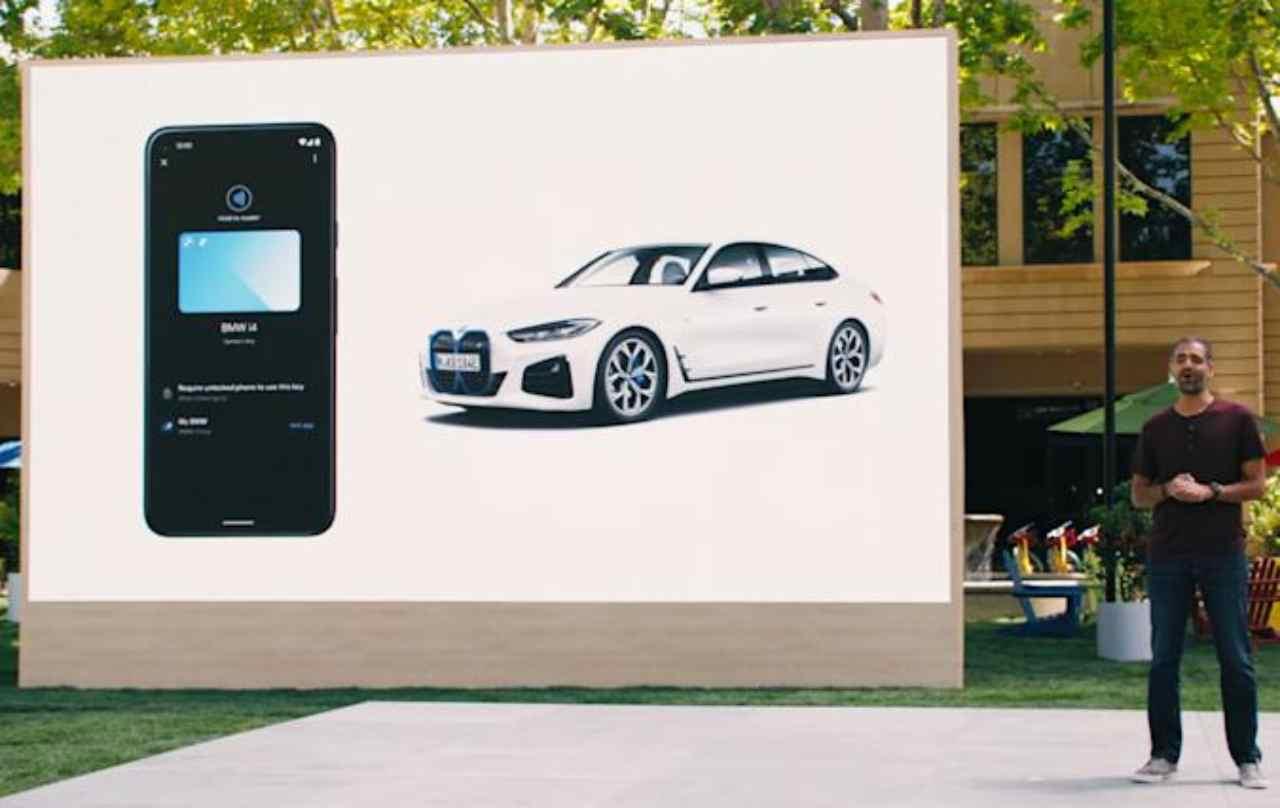 Su Android arriva la digital car key (Foto Engadget)
