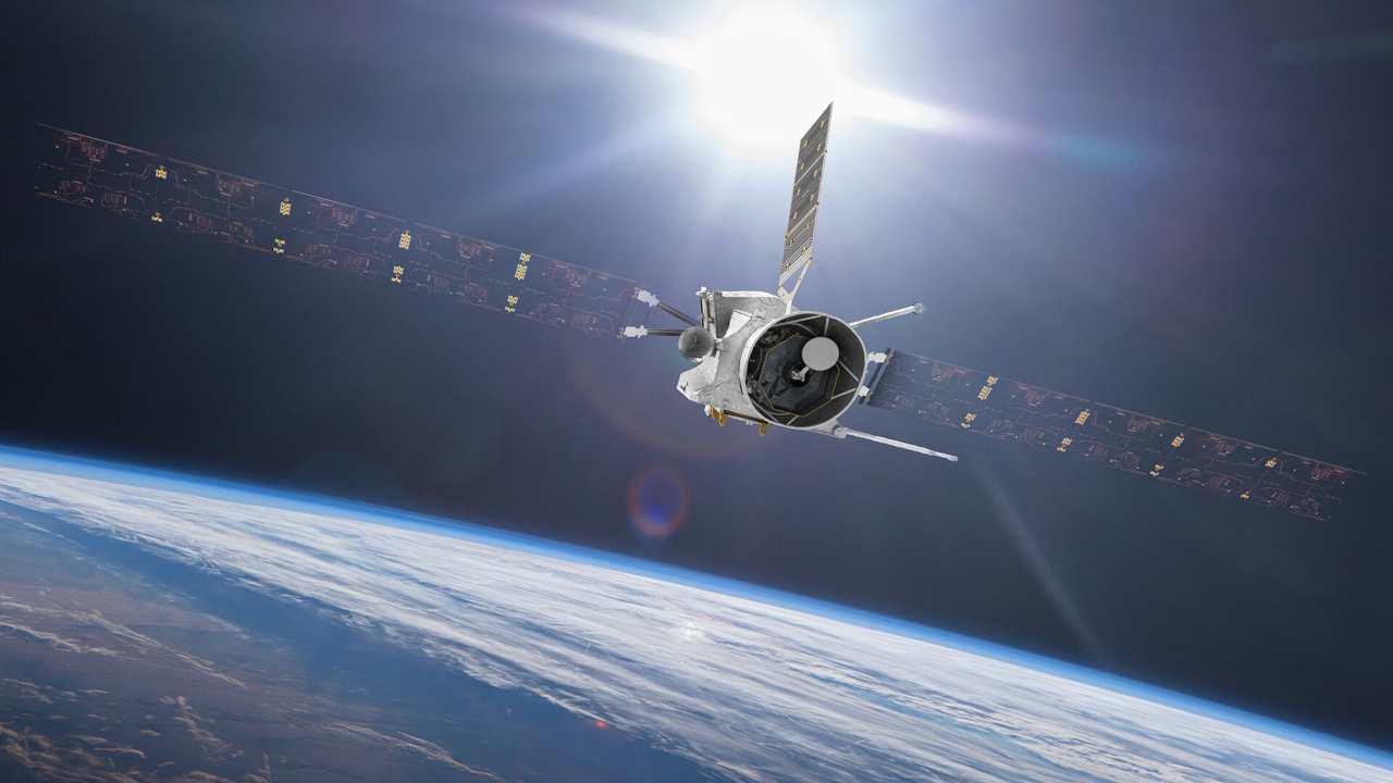 La sonda BepiColombo (Foto Asi)