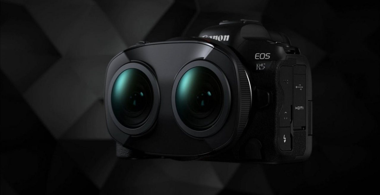 Obiettivo Canon VR180