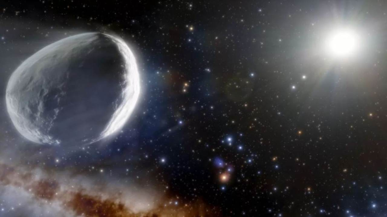 Cometa verso il sole (Foto Meteoweb.eu)
